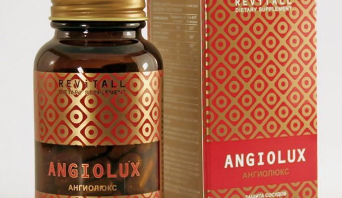 Бад Revitall ANGIOLUX, 40 капсул