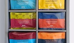 Набор растворимых напитков HEALTHBERRY MIX, 6 видов по 7 саше
